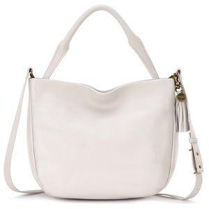 🆕 The Sak pebbled leather off-white crossbody bag